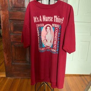 Nurse T-shirt Size XL EUC